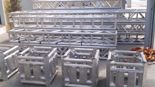 box truss treliça q30 em aluminío o metro