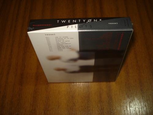 box twenty one pilots / vessel y blurryface  (nuevo) 2 cd