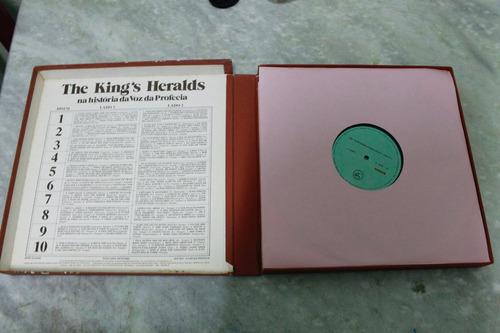 box vinil the kings heralds(unico no mercado livre)