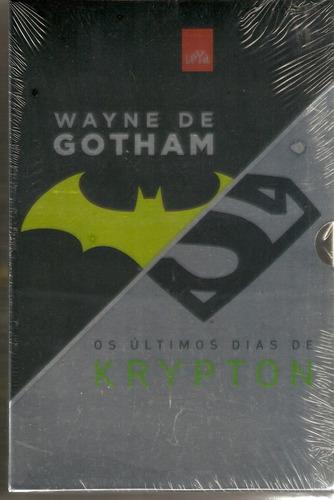 box - wayne de gotham+ os últimos dias de krypton - lacrado!
