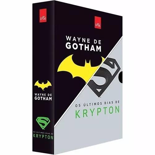 box -  wayne de gotham + os últimos dias de krypton novo*