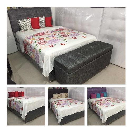 box y copete tapizados en individual fabricantes/tienda