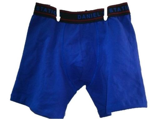 boxer biker largo daniel´s 850  algodon likra strong 10 pack