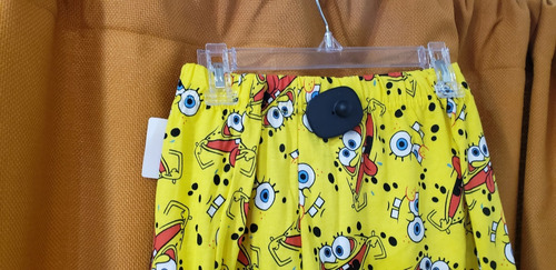 boxer bob esponja amarillo