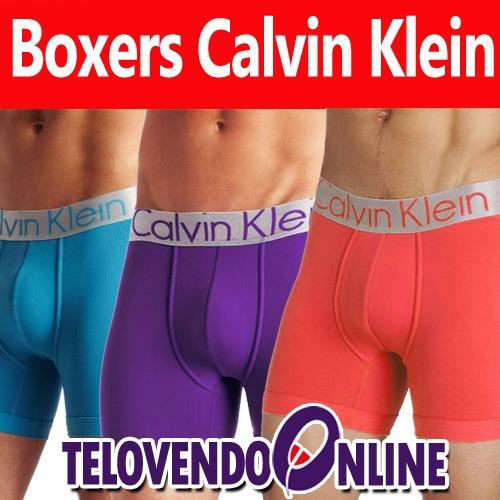 boxer calvin klein 100% original ropa interior masculina