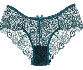 82c18ab46c9c Boxer Calzon Panty Encaje Mujer Sexy