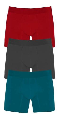 boxer geordi  algodon cortos medios largos caballero colores