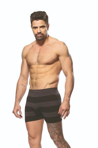 boxer hombre pack x6 algodon + 12 medias dufour invisible