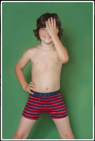 boxer lody men kids niño algodón estampado art 603