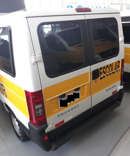 boxer minibus 2.3 15 lugares c ar condicionado escolar  2015