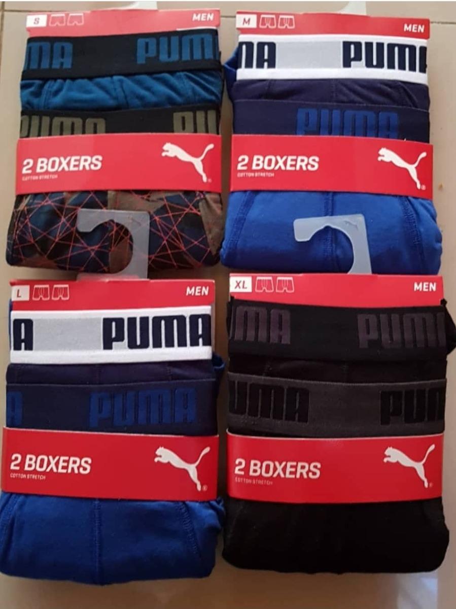 boxer puma hombre algodon