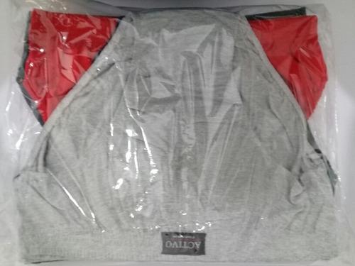 boxer y slip activo for men % 100 algodon x 12
