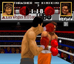 boxing legends of the ring - boxeo / super nintendo snes