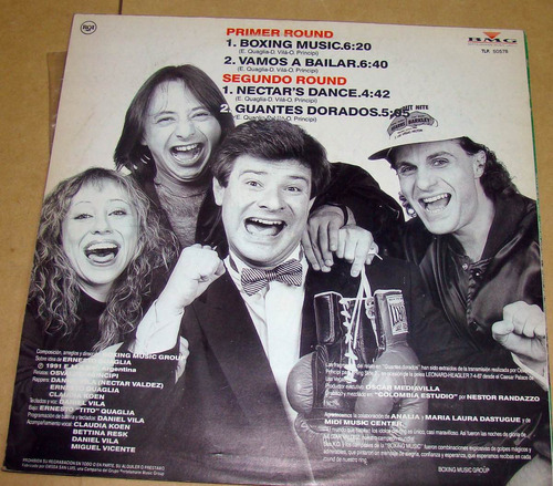 boxing music group maxi lp promo osvaldo principi