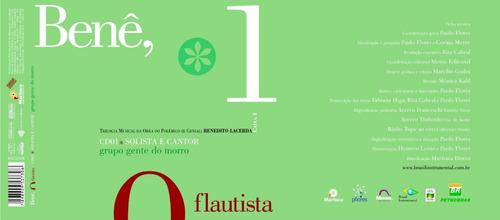 boxset benê, o flautista - 4cds e libreto de 90 pags.