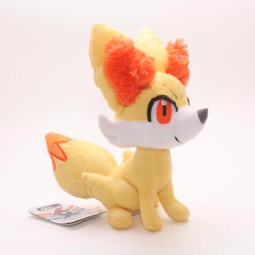 boxstore ] pokemon fennekin  peluche pokemon center 23cm