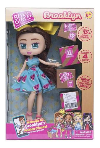 boxy girls muñecas con accesorios unbox nena juguete toy tv