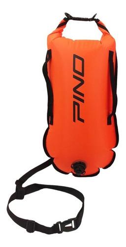 boya de seguridad pino 28 l safety buoy, natacion, triatlon
