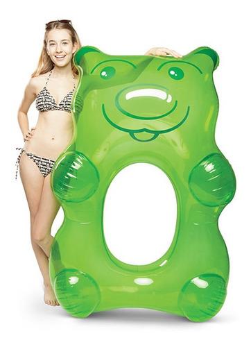 boya oso de goma, verde
