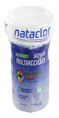 boya para pileta multiaccion recargable nataclor