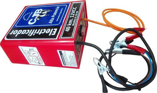 boyero eléctrico, electrificador 60km.12v. cjb