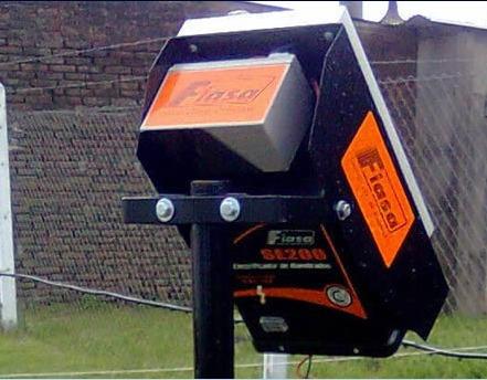 boyero solar 20km para alambrados y cercos perimetrales