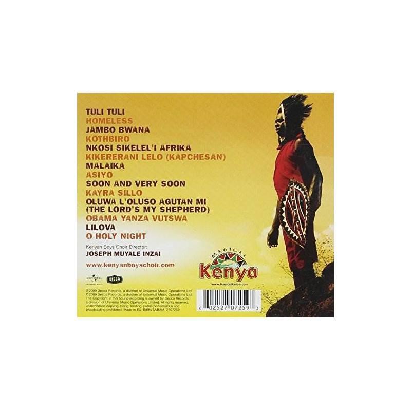 Boys Choir Of Kenya Spirit Of Africa Usa Import Cd Nuevo
