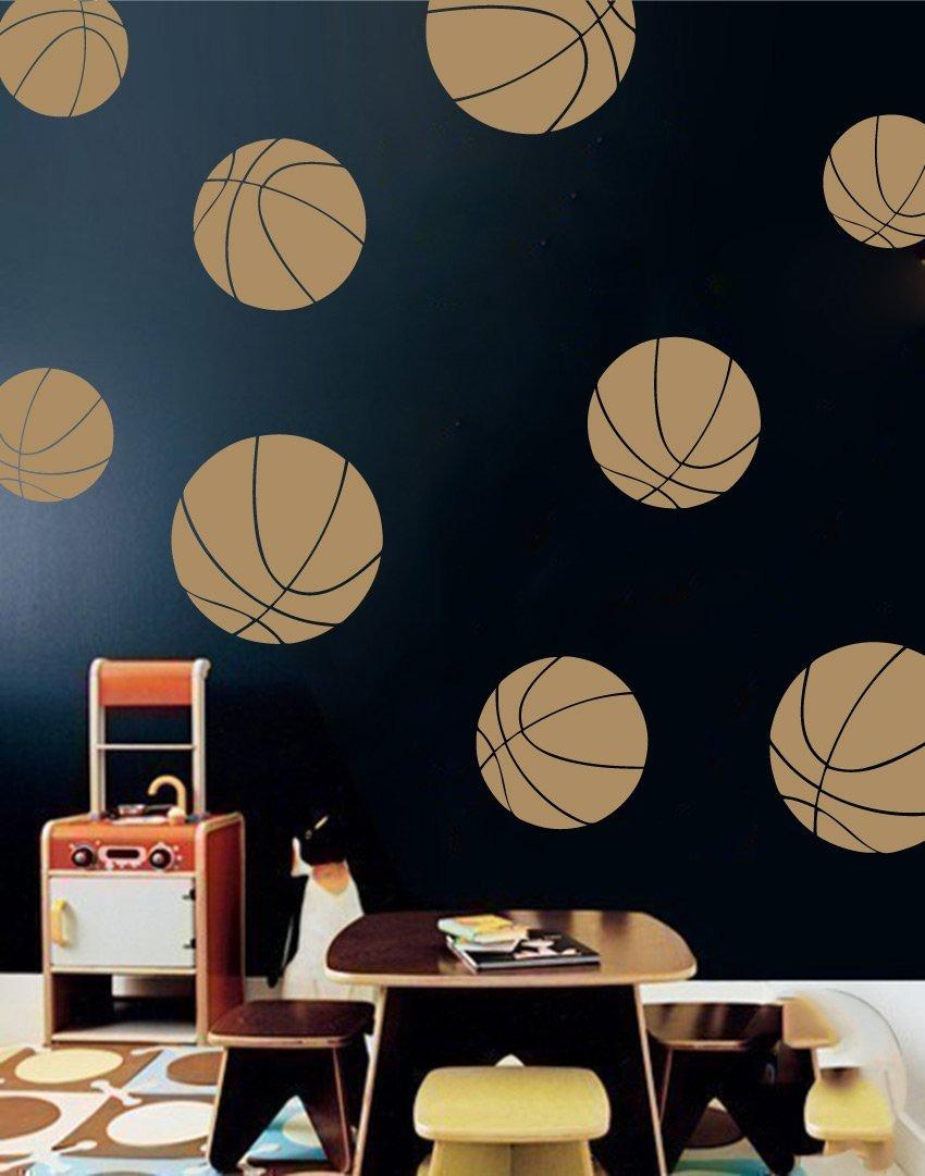 Image of: Boys Room Basketball Wall Decals Room Decor For Kids Remov 147 900 En Mercado Libre