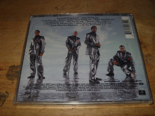 boyz il men - nathan michael shawn wanya cd nuevo sellado