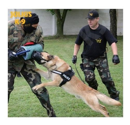 bozal cuero julius k-9, perros policias, pastor aleman