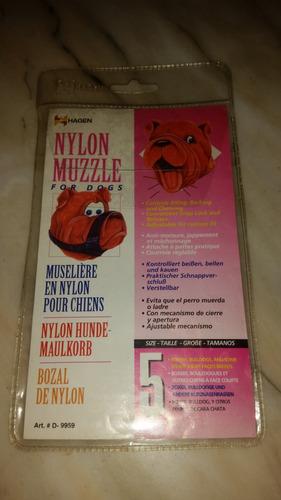 bozal en nylon  marca hagen caninos razas medianas