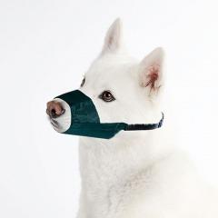 bozal para perros de nylon con cinta ajustable talla  m