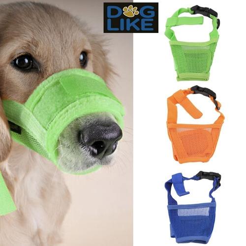bozal perro 5 tallas velcro resistente talla xxl /  doglike
