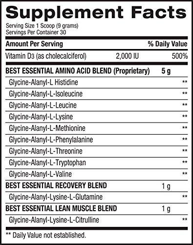 Bpi Sports Essential 9 Aminocidos Oligopeptdicos A Base De