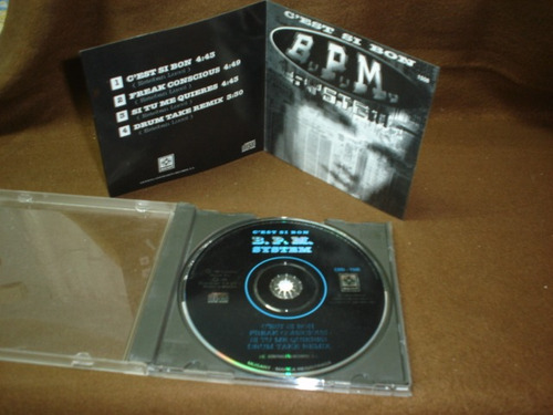 b.p.m.  system - cd single - c´est si bon ndd