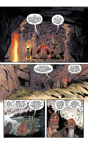 b.p.r.d. hell on earth vol. 11: flesh and stone tpb (2015)