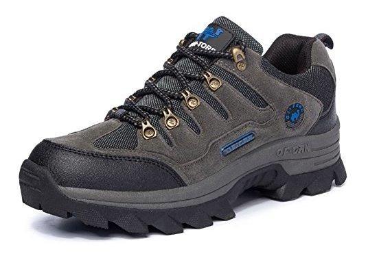 8d9984fa89586 B&q Hombres Transpirable Ligero Impermeable Caminar Senderis