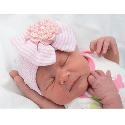 bqubo 3 piezas newborn hospital hat bebé gorra de bebé con