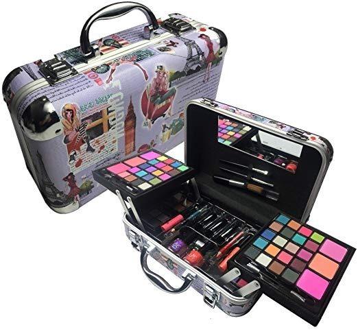 5ffdbd32f Br Carry All Trunk Train Case Set De Maquillaje Artista (art ...