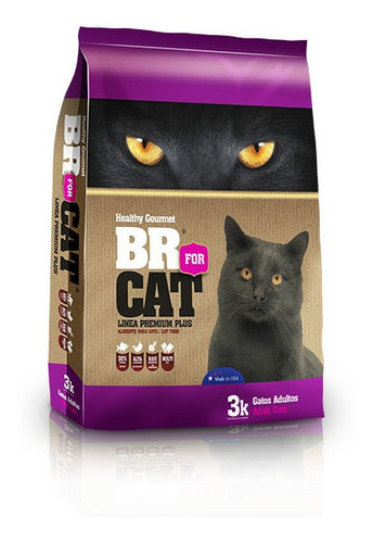 br for cat gato adulto 3kg
