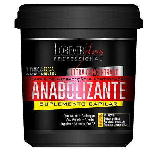 br forever liss & sos + anabolizante capilar 240g anti queda