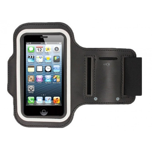braçadeira armband sport para lg optimus l3 neoprene