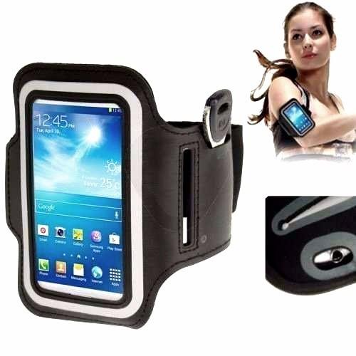 braçadeira celular armband galaxy s3 s4 s5 iphone 4, 5, 6