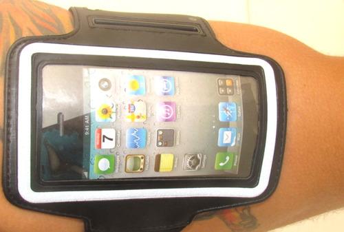 braçadeira iphone 2g 3g 3gs 4g 4s ipod galaxy frete grátis