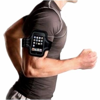 braçadeira p/ celular - armband motorola razr m, atrix hd