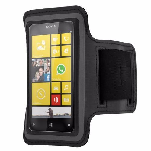 braçadeira p/ celular - armband - nokia lumia 520, 505, 620