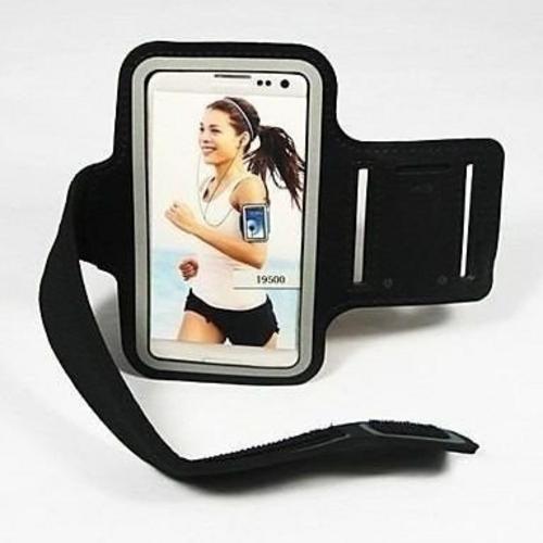 braçadeira porta celular armband p/ corrida e caminhada