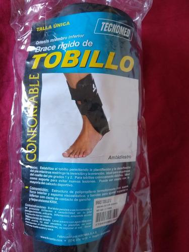 brace rígido de tobillo ortesis inmovilizador