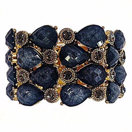 bracelete black party