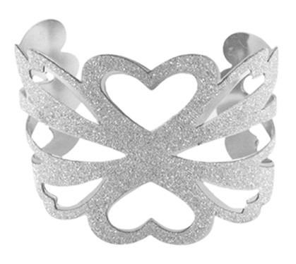 bracelete com glitter